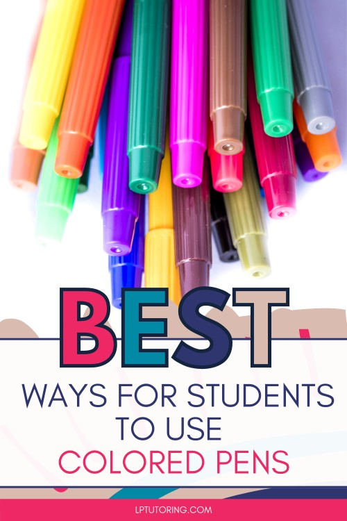 How Using Colored Pens Can Make You a Better Student